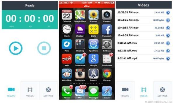 XRec: Graba todo lo que pasa en la pantalla de tu iPhone (Sin JailBreak !)