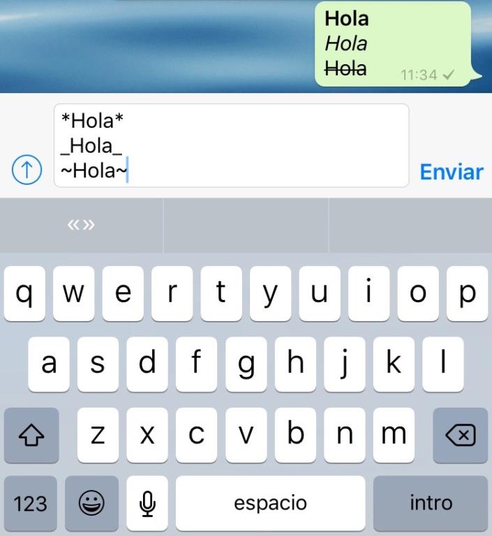 WhatsApp_iPhone_textos-en_negrita-cursiva-tachado_