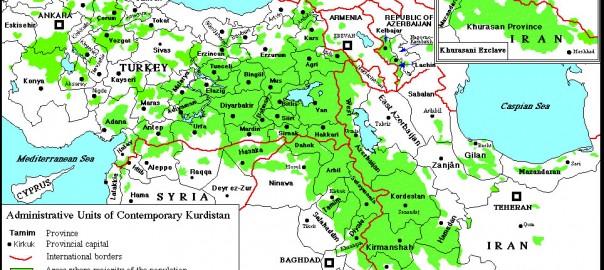 Kurdistan_mapa