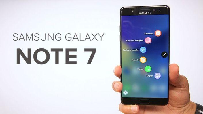 c81c3dc591f Los nuevos Galaxy Note 7 ya no explotan, pero se recalientan y sufren  problemas de batería