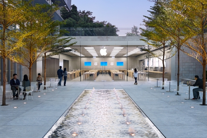 Apple Store Holiday Plaza, en Shenzhen