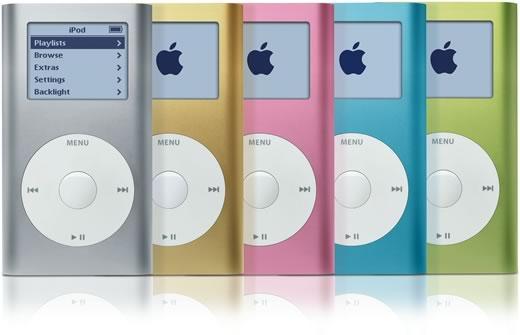 Primera generación del iPod Mini