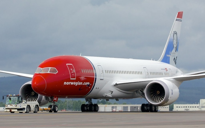 Boeing 787-8 de Norwegian Air Shuttle