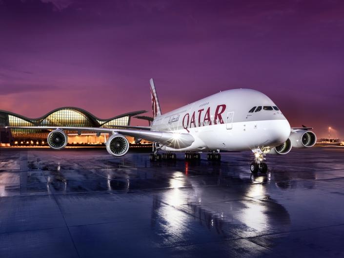 Airbus A380-800 de Qatar Airways
