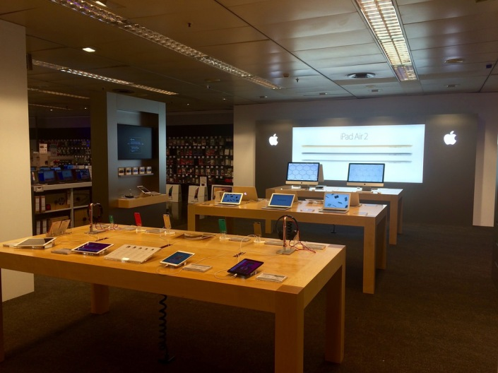 Store-in-store de Apple