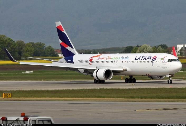Boeing 767-300 de Latam.