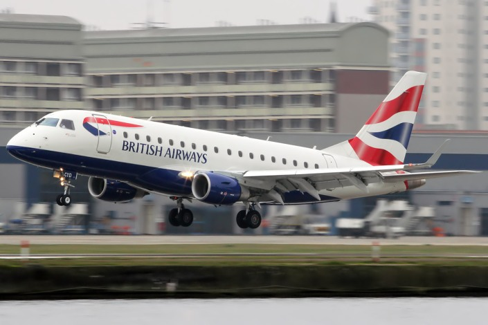 Embraer ERJ 170 de British Airways.