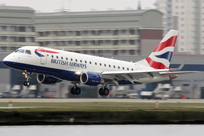 Embraer ERJ 170 de British Airways.